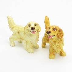 Golden Retriever Dog Ceramic Figurine Salt Pepper Shaker C00008 Ceramic Handmade Dog Lover Gift Collectible Home Decor Art and Crafts by Golden Retriever - madamepOmm -. $59.00. Golden Retriever  Dog Lover Ceramic Original Handmade Hand Paint Salt and Pepper Shaker Figurine Ceramic Home Decor Collectibles  Made of ceramic porcelain high fired interior apply clear under-glaze, food safe painted with attention hand painted acrylic paint then apply clear gloss prote...