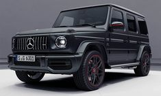 It might have taken Mercedes-Benz and their AMG team decades to redesign everyone's favorite incredibly boxy SUV, but they're churning out new editions of the 2019 vehicle at a fever pace now. If the newly revealed 2019 Mercedes-AMG G63 didn't feel dark enough for your personal tastes, with its mostly