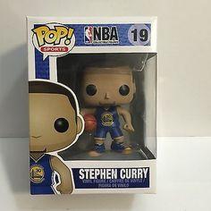 Golden State Warriors Stephen Curry FUNKO POP #19 NBA Vinyl Figure PRE-RELEASE