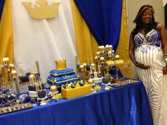 Royal Prince Royal Prince Baby Shower Candy Buffet Sweets Table