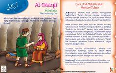Kisah Asma'ul Husna Al-Baaqii   Ebook Anak