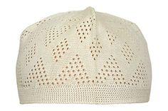13be0c02f08 Product review for Manal Enterprises Elastic Kufi Hat Skull Cap Beanies Men Muslim  White Poly Cotton Cap Islamic Head