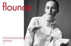 Fashion Copious - Rianne Van Rompaey by Karim Sadli for The Gentlewoman SS 2016