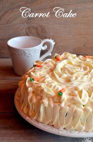 La Cocina de Ani: Carrot Cake Sweet Life, Carrot Cake, Carrots, Cheesecake, Pudding, Desserts, Food, Cakes, Funny