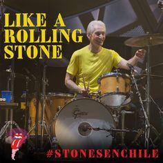 LIKE or PIN for the Stones to play LIKE A ROLLING STONE in Chile  Haz clic en ME GUSTA o COMPARTIR para que los Rolling Stones toquen LIKE A ROLLING STONE en Santiago