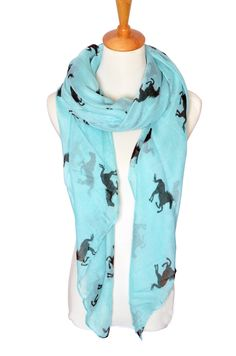 Herebuy Cool Animal Print Scarf Fashionable Women Scarves for Winter