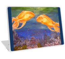 Laptop Skin,  unique,cool,fancy,beautiful,trendy,artistic,awesome,unusual,fashionable,accessories,gifts,presents,ideas,design,items,products,for,sale,blue,fish,ocean,underwater
