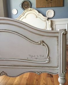 beautiful french style bed antiqued with general finishes glaze, painted furniture, rustic furniture Steel Furniture, Unique Furniture, Cheap Furniture, Bedroom Furniture, Painted Furniture, Repurposed Furniture, Furniture Removal, Furniture Logo, Furniture Projects