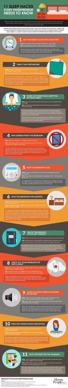 Struggling to Sleep as a Startup Entrepreneur? [Infographic]
