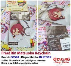 RIN MATSUOKA / Free!, keychain originale giapponese da collezione! Per info e per acquistarlo clicca qui--> https://www.facebook.com/otakingshopitalia/photos/a.728888637241288.1073741848.643117879151698/750166045113547/?type=3&theater Consegna gratuita a mano su ROMA o spedizioni tracciate in tutta Italia!