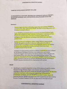 Trump Dossier Analysis: Corroborating Evidence in the Trump/Russia Dossier