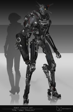 Robot Concept art / TOTAL advertising