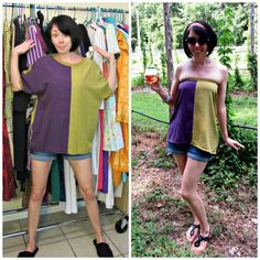The last refashion at my old digs & a sneak peek at my new house! :)