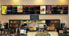Digital menu board|QSR Signage