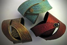 Learn to make Polymer clay wrap bracelets with Helen Breil