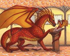 Book Dragon Dragon Hatchling Egg Baby Babies Cute Funny Humor Fantasy Myth Mythical Mystical Legend Dragons Wings Sword Sorcery Magic Art Fairy Maiden Whimsy Whimsical Drache drago dragon Дракон drak dragão