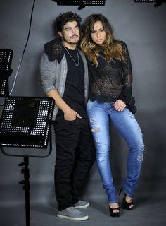 VERÃO 2014 - Sawary Jeans com Sabrina Sato e Caio Castro em nova campanha - Notícias - Guia JeansWear : O Portal do Jeans