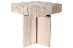 Ιδιαίτερο σκαμπώ για κάθε γωνιά του σπιτιού σας! 👉 Σκαμπώ σε σχήμα σταυρού από μασίφ ξύλο πεύκου. (Διαστάσεις: 37Χ37Χ40cm)   *Εξαιρετικά ανθεκτικό στην υγρασία