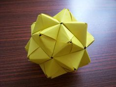 Modular Origami - Sonobe - how to