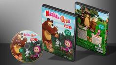 Masha E O Urso - Volume 1 - Capa | VITRINE - Galeria De Capas - Designer Covers Custom | Capas & Labels Customizados