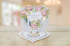 Ornamental Vintage Lace by Tattered Lace    For more information visit:  www.tatterelace.co.uk Lace Flowers, Vintage Lace, Snow Globes, Card Making, Ornaments, Day, How To Make, Inspiration, Biblical Inspiration