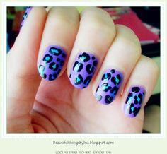 leopard matte madness  http://beautifulthingsbylna.blogspot.com/2012/11/nails-leopard-matte-madness.html