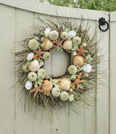 Seacoast Wreath, Indoor/Outdoor: Dry Wreaths | Free Shipping at L.L.Bean