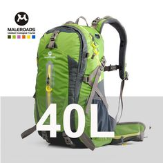 Outdoor sport travel backpack mountain climbing backpack climb knapsack camping hiking backpack 40L 50L packsack