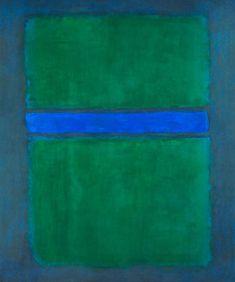 Mark Rothko, 1957. 🖤💚➰