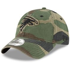 208596c9aa7 Youth Atlanta Falcons New Era Woodland Camo Core Classic 9TWENTY Adjustable  Hat