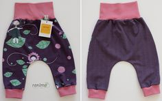 Pumphose LIVIA in den Größen 62 bis 86. Harem Pants, Baby, Fashion, Harem Jeans, Fashion Styles, Harlem Pants, Babys, Infant, Fashion Illustrations