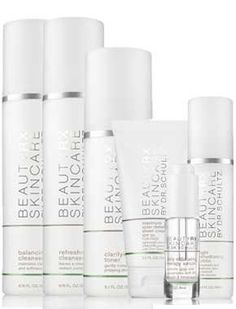 BeautyRx Skincare Regimen for Combination Skin by BeautyRx. $149.00. 6 - piece kit contains the entire skincare regimen needed to keep combination skin clean and balanced. Light Rehydrating Lotion & Maximum Solar Defense Sheer Cream SPF 50 - Rebalances moisture content of skin and instant sun protection. Balancing Cleanser & Refreshing Cleanser - Use Balancing for the t-zone and Refreshing for cheeks. Daily Exfoliating Therapy Serum- Rejuvenate dull skin and prevent ac...