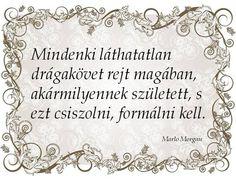 Marlo Morgan gondolata a fejlődés szükségességéről. A kép forrása: Kapcsos könyv