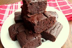 Quinoa Brownies (Dairy, Gluten/Grain and Refined Sugar Free)