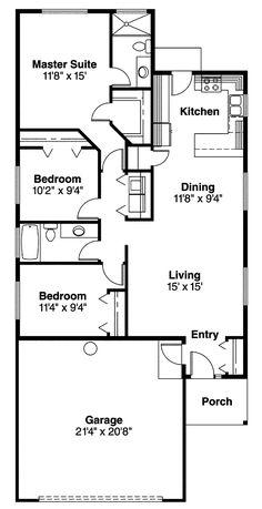 House Plan chp-26903 at COOLhouseplans.com