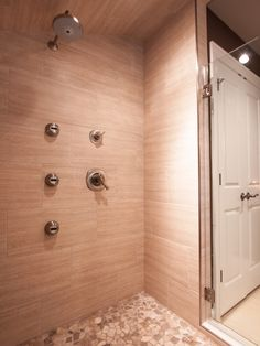 Modern New Shower Design