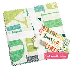 Just My Type Charm Pack Patty Young for Michael Miller Fabrics
