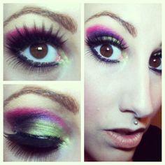 Urban Decay and Sephora makeup.