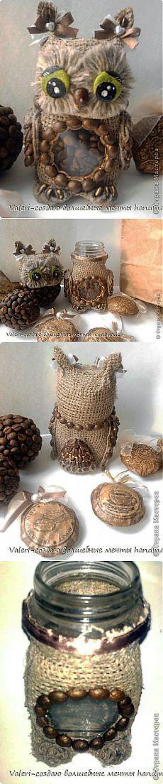 Совка-хранительница кофе. МК. | Конфетный рай
