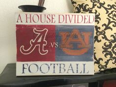 Vintage Distressed House divided College by gracefullyjaded