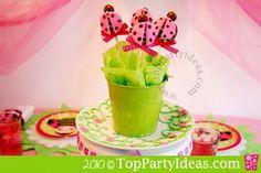 Ladybug Cupcake Pops