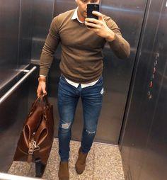 Smart Casual Menswear, Men Casual, Modern Men Street Style, Designer Suits Online, Mode Man, Formal Men Outfit, Style Masculin, Herren Style, Mein Style
