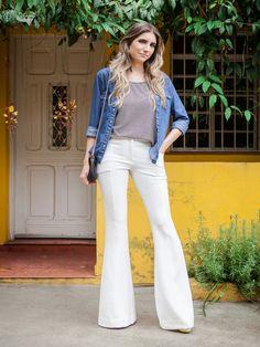 Calça Nice Off White | Atelie de calcas