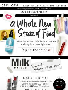 Introducing our newest one-of-a-kind brands - Sephora