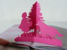 Heidelberg, Pop-Up Little Red Riding Hood © Laura Barrett