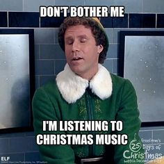 Is there really such a thing as being too hyped for Christmas? Probably not, if you agree with these 13 memes! Christmas Time Is Here, Christmas Mood, Christmas Music, Christmas Movies, Christmas Humor, Before Christmas, Christmas Ideas, Merry Christmas, Christmas Stuff