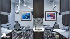 Contemporary Operatories. Dental Office Design by Arminco Inc.