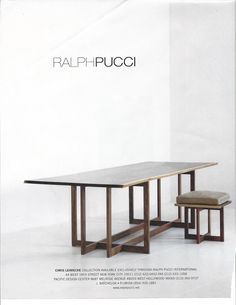 Ralph Pucci table