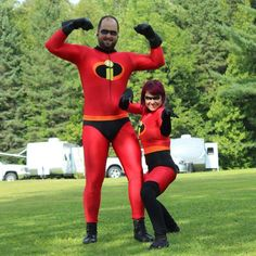 Incredibles costumes by Caroline made with Jalie patterns 992 and 3135!