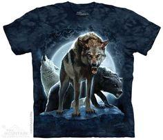 Bad Moon Wolves T-shirt